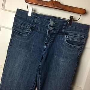 Kut from the Kloth Trouser Jeans Wide Leg Low 8